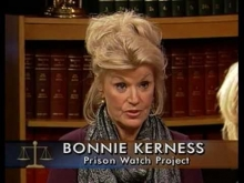 AFSC's Bonnie Kerness on Solitary Confinement (NJN - Public TV)