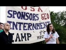 AFSC at GEO ICE Detention, August 1, 2011