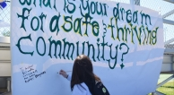 What is your dream for a safe and thriving community