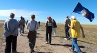 Protest at Nuclear Missile Site