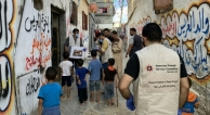 Delivering aid to elders in Gaza