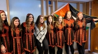 """debkah dance team from a """"Palestinian Day in Arlington Heights"""""""
