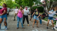 Dancing in the streets of Chicago