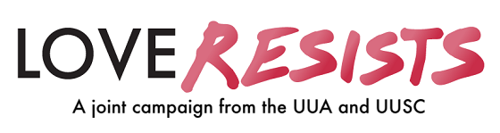 Love Resists logo