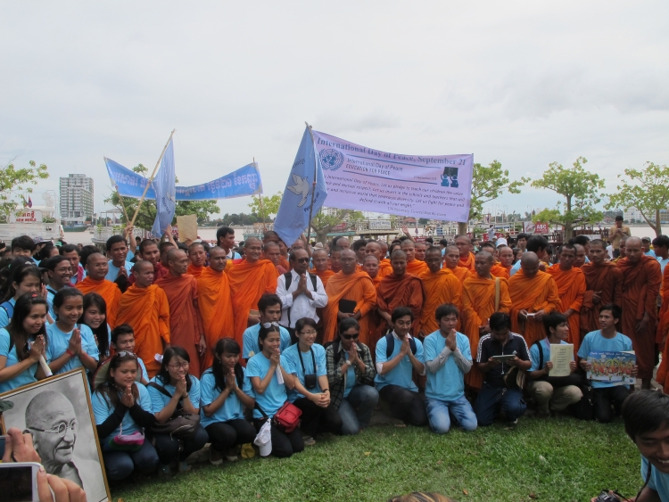 International Day of Peace 2013, in Phnom Penh