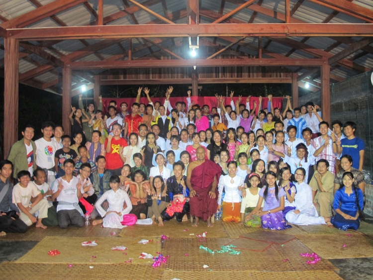 Group photo of Peace Journey