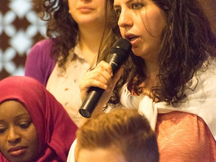 Tamara Tamimi, one of the PYTC participants gives her two cents.