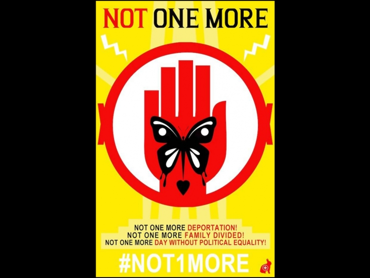 """""""Not one more"""" poster"""