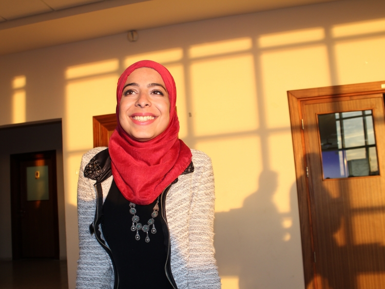 Tasneem Al Qadi, 24, is one of the newcomers to the Project.