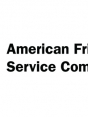 Logo for American Friends Service Committee