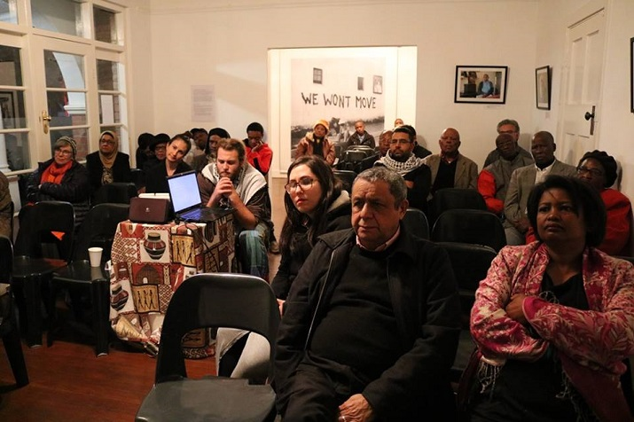 "Film screening of the South African film ""The Village under the Forest"" in Sophiatown, South Africa, May 22, 2016"