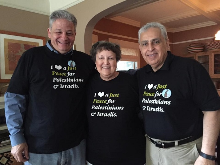Friends at the Presbyterian GA working for Palestinian human rights