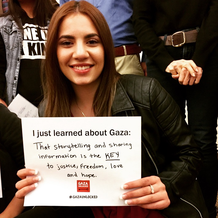 I just learned about Gaza...