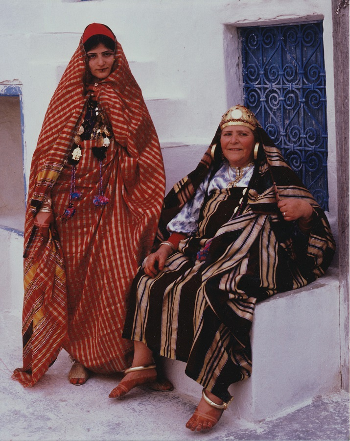 Jews of Djerba - Jewish bride and mother by Keren T. Friendman, Djerba, Tunisia, 1980 via Flickr CC license