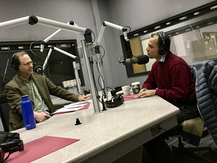 Mohammed Omer interviewed at WBEZ Chicago