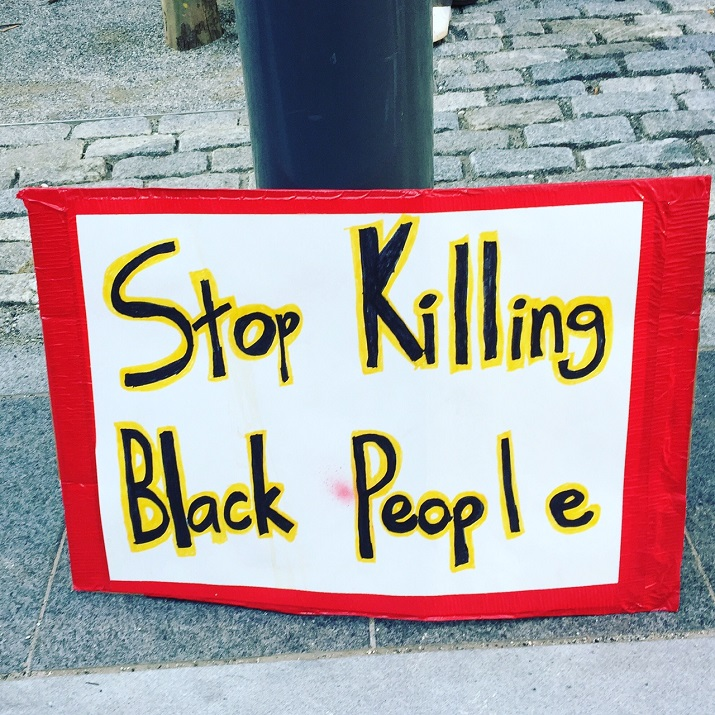 Stop killing Black people by Lucy Duncan