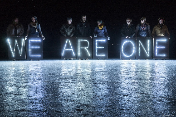 We are one by Joe Brusky via Flickr CC license