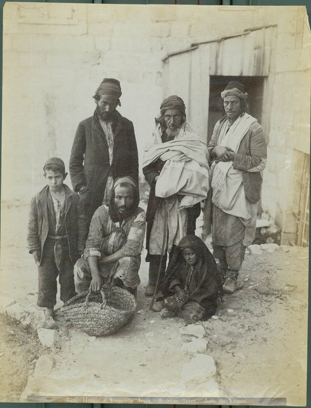 Yemenite Jews from Palestine Exploration via Flickr CC
