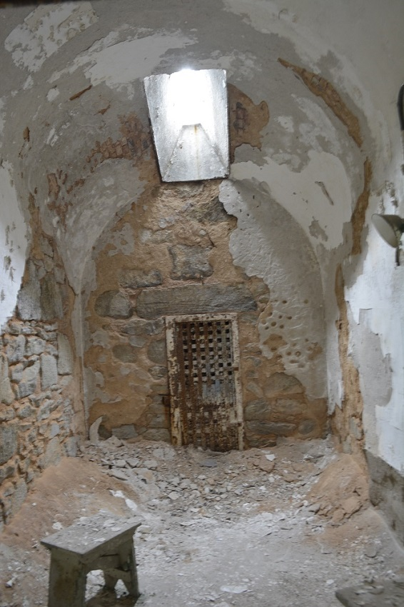Solitary cell at Eastern State Penitentiary (Photo: Lucy Duncan)