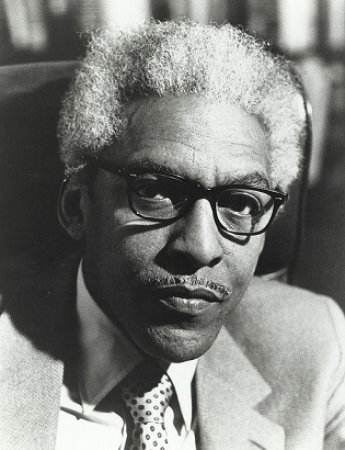 Bayard Rustin (Chicago Urban League Records, University of Illinois at Chicago Library)