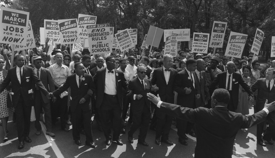 March on Washington, 1963. Photo: AFSC Archives