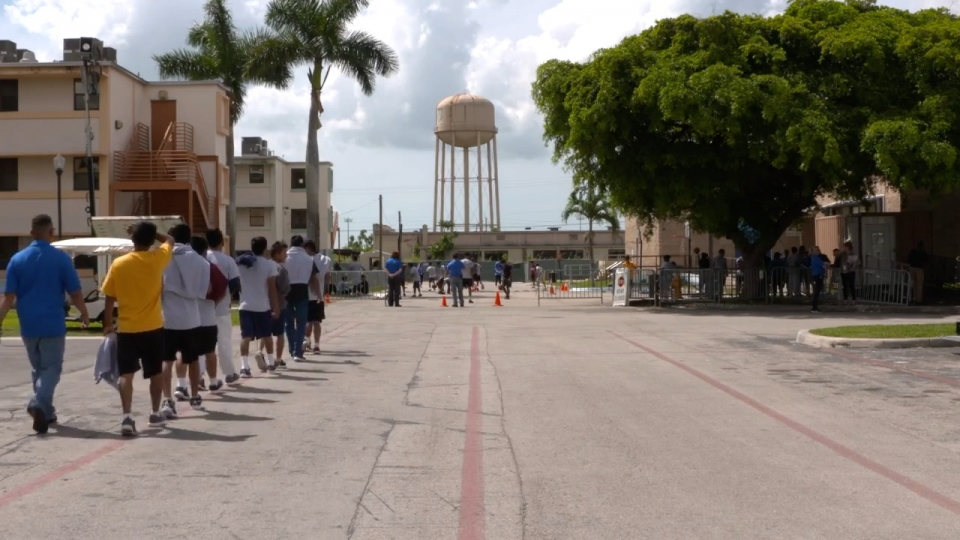 The detention center in Homestead sits on property owned by the U.S. military. Photo: Public domain