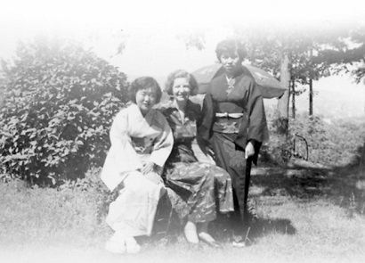Hiroshima maidens via AFSC archives
