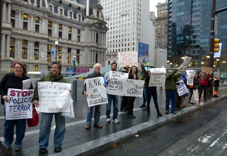 Oct 22 Philadelphia End Police Brutality & Mass Incarceration Day by Joe Piette // Flickr CC License