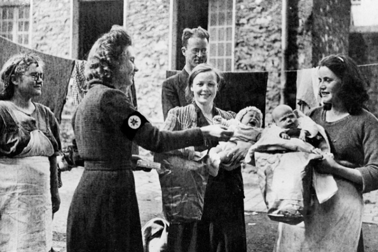 As war overtook Europe, AFSC continued to manage the children's colonies in southern France, taking in Jews and others fleeing the Nazis. // AFSC